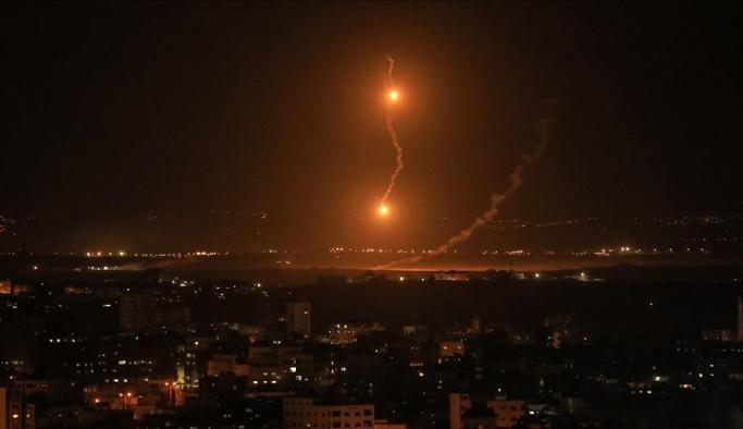 İsrail bahane buldu, Gazze'ye bombalar yağıyor