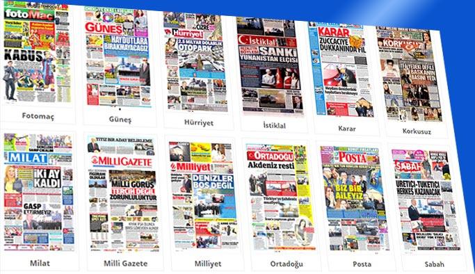 Gazeteler hangi manşetlerle çıktı - 5 Kasım