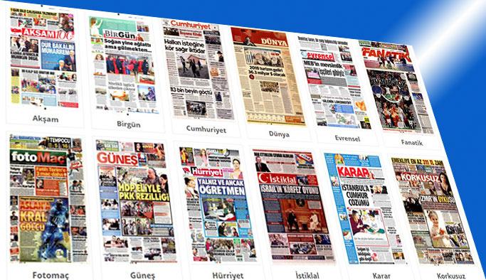 Gazete manşetlerinde bugün ne var?