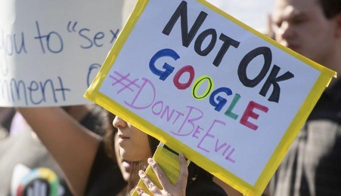 Google çalışanlarının protestosu işe yaradı