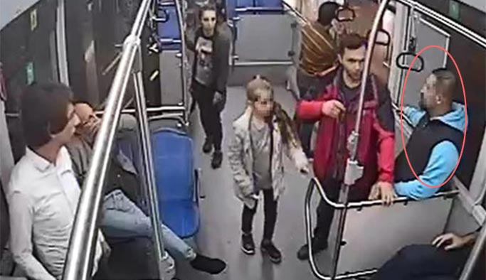 Otobüste taciz iddiası, babanın gözleri karardı