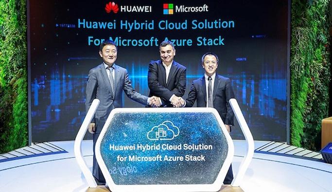 Huawei ve Microsoft Apple'a karşı birleşti