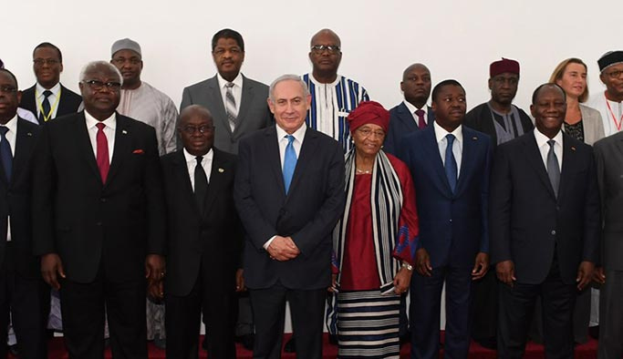 İsrail gözünü Afrika'ya dikti