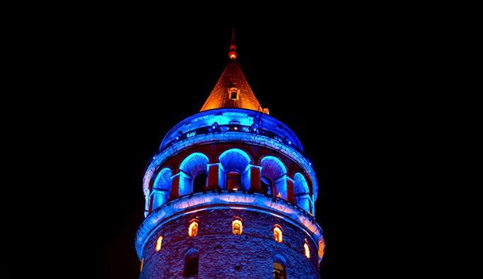 İstanbul çocuklar için mavilendi
