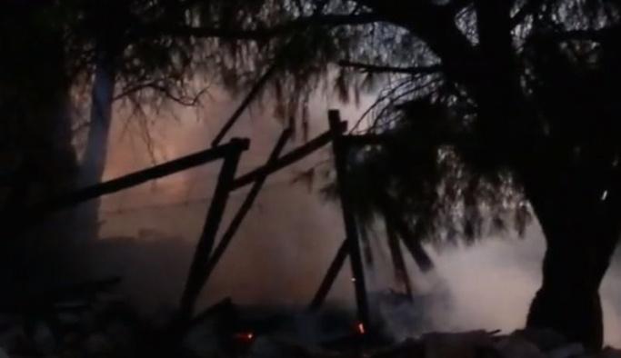 İzmir Foça'da korkutan patlama sesleri