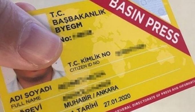 Kaç kişinin sarı basın kartı var, rakamlar açıklandı