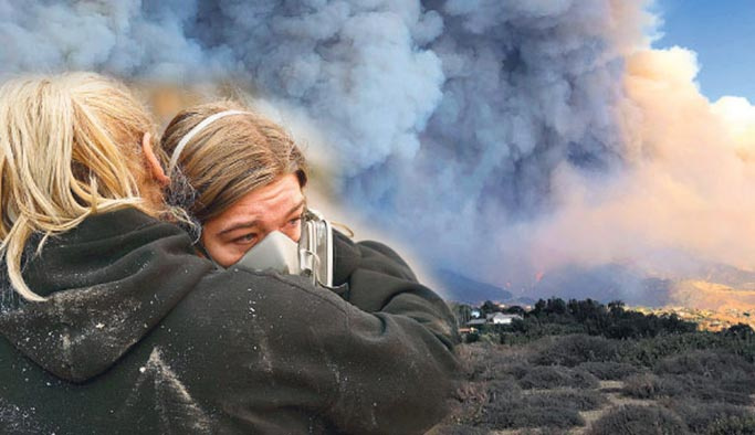 Kaliforniya yangınında ölü sayısı yükseliyor
