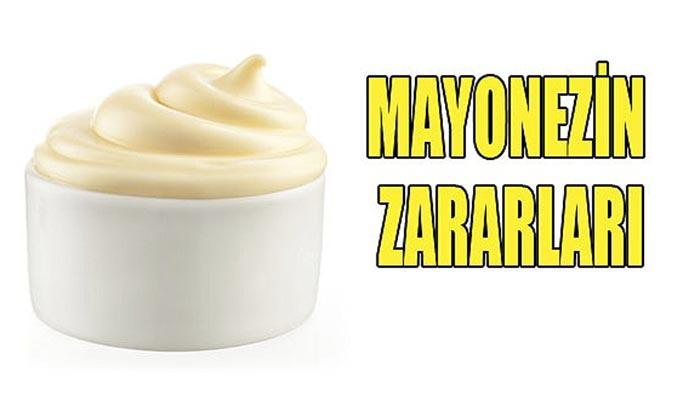 Mayonezin zararları