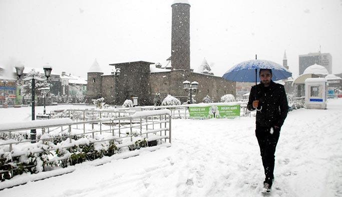 Meteoroloji uyardı, 5 ilde kar bekleniyor