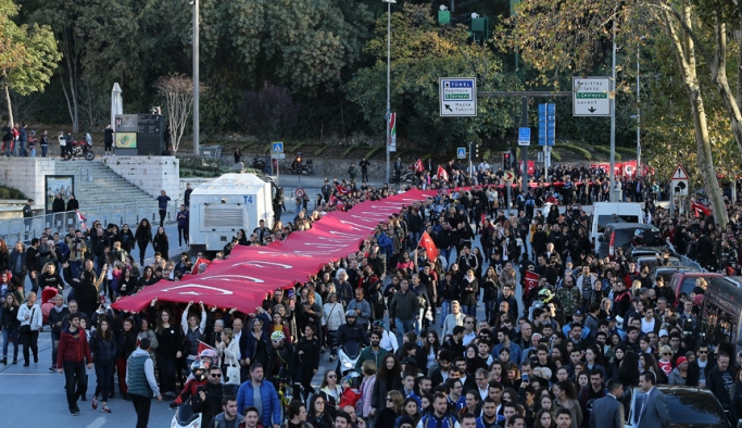 Mustafa Kemal 80'inci ölüm yıl dönümünde anılıyor