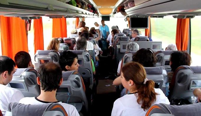 Otobüs biletlerine 'dolar indirimi'
