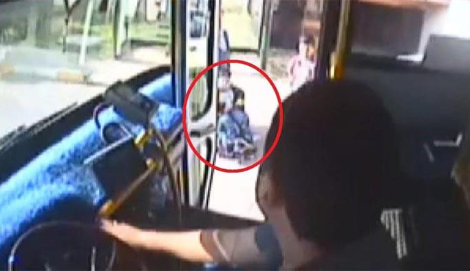 Otobüs şoföründen alkışlanacak hareket