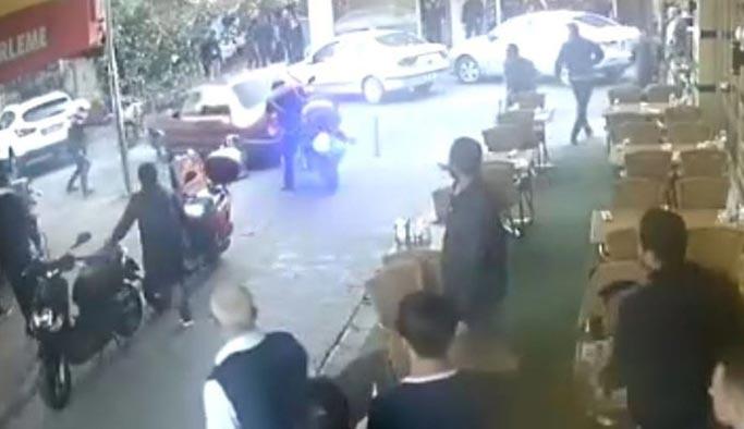 Polisten kaçan sürücü ortalığı birbirine kattı