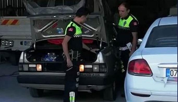 Polisten trafik magandasına rekor para cezası
