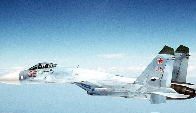 Rus savaş uçağı ABD uçağını taciz etti