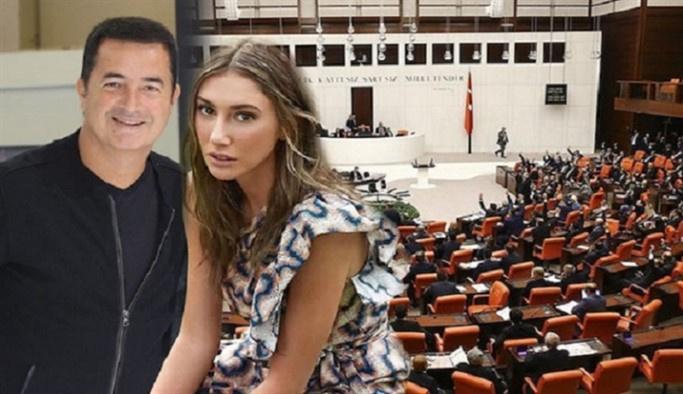 Şeyma Subaşı'nın aldığı nafaka Millet Meclisi'nde tartışma konusu oldu