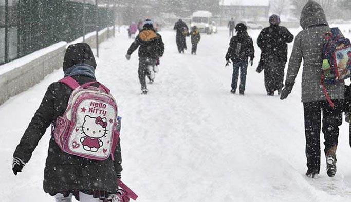 Sezonun ilk kar tatili haberi geldi