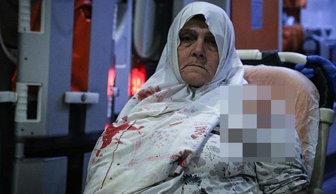 Suriyeli yaşlı kadına gasp ve bıçaklı saldırı