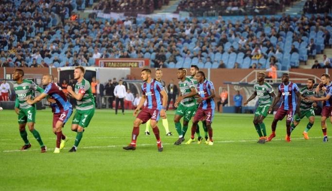 Karadeniz Fırtınası, Timsahları affetmedi; Trabzonspor zorlandı