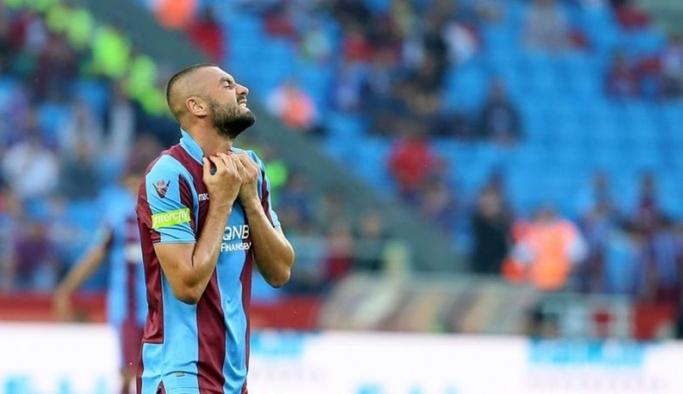 Trabzonspor'dan Burak Yılmaz'a kötü haber