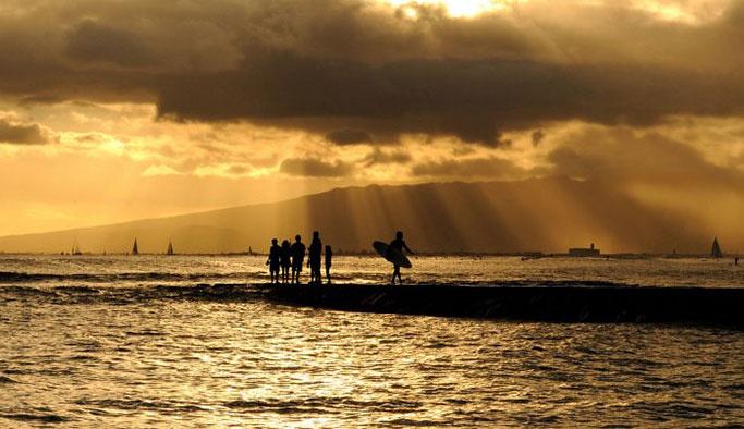 Waikiki plajı nerede, Waikiki otelleri
