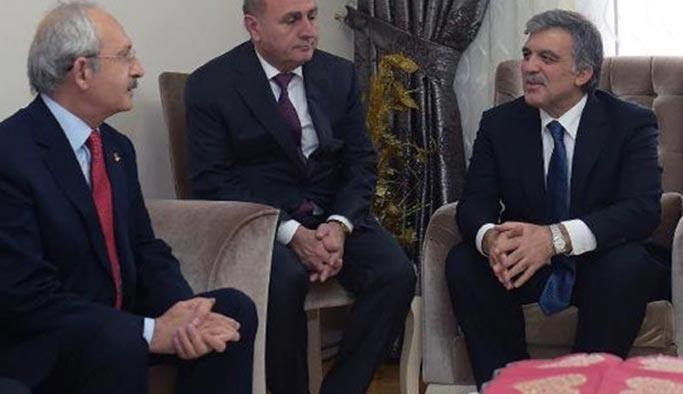 Abdullah Gül'den muhalefetle üst üste görüşmeler