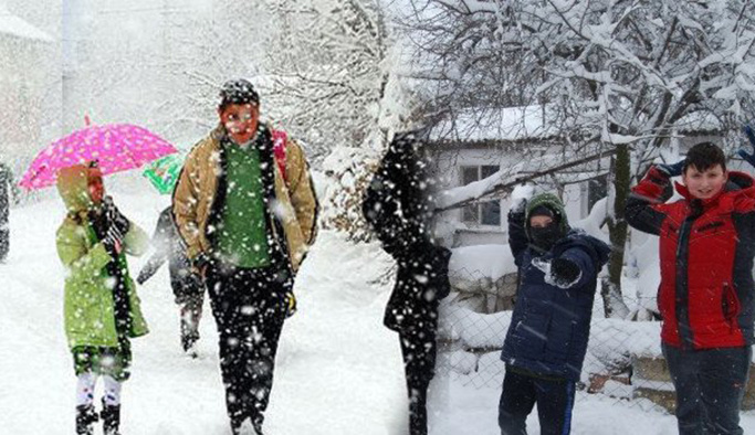 Adıyaman Çelikhan'da eğitime kar engeli