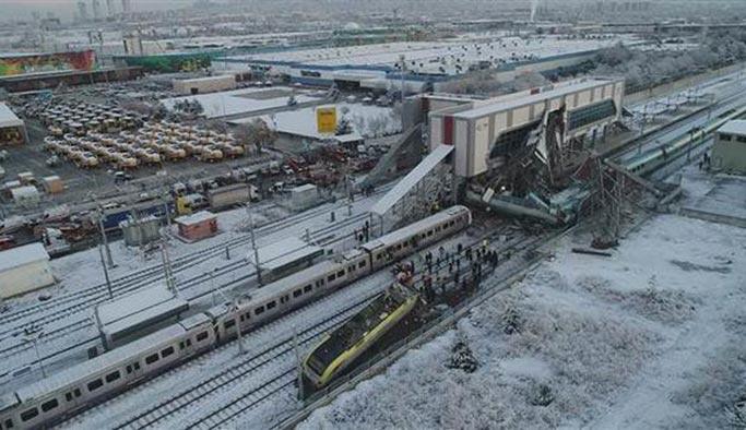 Ankara'daki tren kazasının nedeni belli oldu