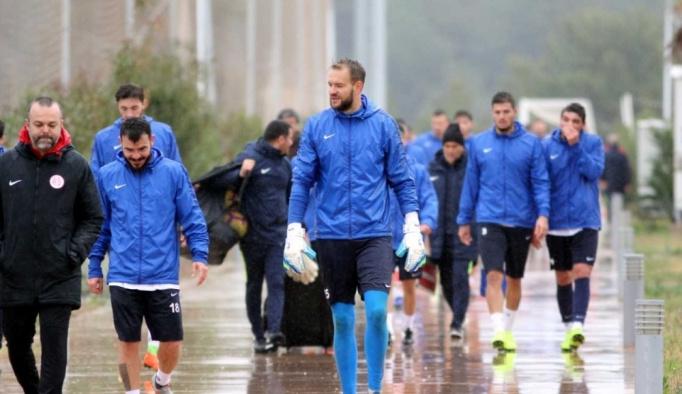 Antalyaspor'da Darıca Gençlerbirliği maçı hazırlıkları