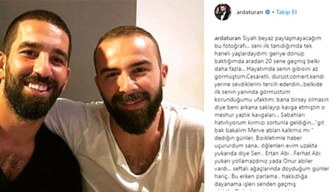 Arda Turan'ın acı günü