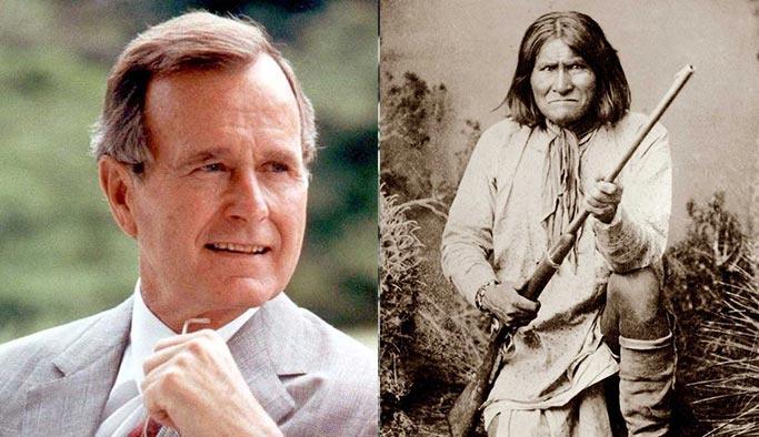 Baba Bush 'Geronimo'nun kafatası sırrıyla gitti