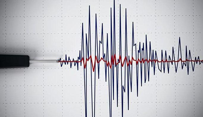 Bursa'da deprem meydana geldi