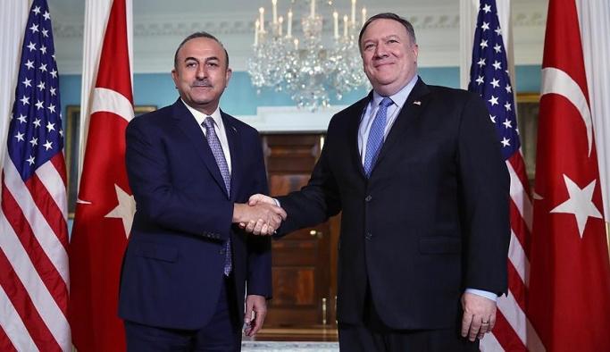 Dışişleri Bakanı Çavuşoğlu ABDli mevkidaşı ile görüştü