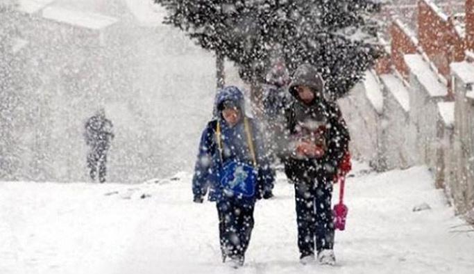 Çanakkale, Tekirdağ ve Edirne'nin bazı ilçelerinde 19 Aralık Çarşamba okullar tatil