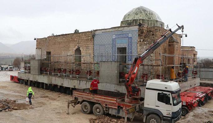 Eyyubi Camisi'nin son bölümü de taşınıyor