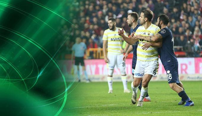 Fenerbahçe devreyi düşme hattında kapattı