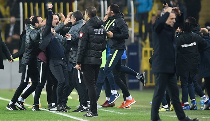 Fenerbahçe-Erzurumspor: 2-2