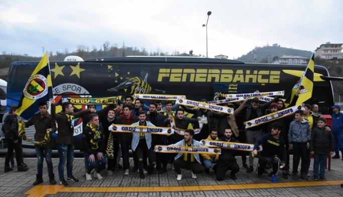 Fenerbahçe kafilesi Giresun'a geldi