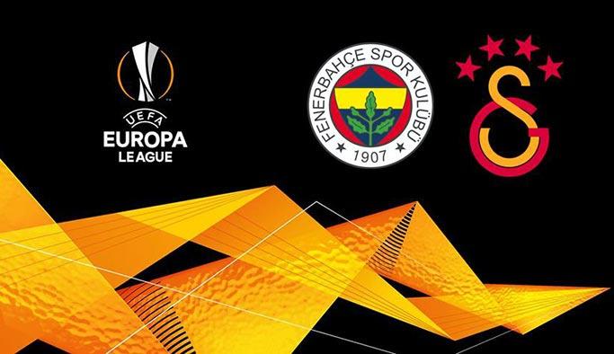 Fenerbahçe ve Galatasaray UEFA Avrupa Ligi rakipleri belli oldu