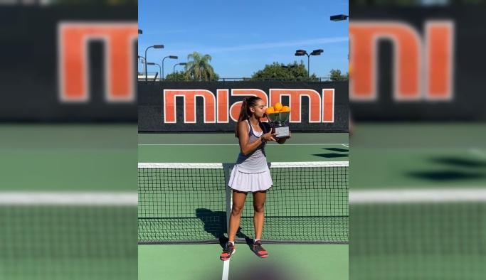 Genç tenisçiden önemli başarı