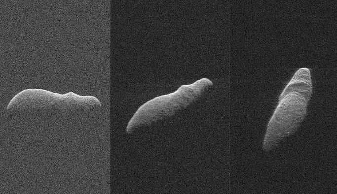 Holiday Asteroidi böyle görüntülendi