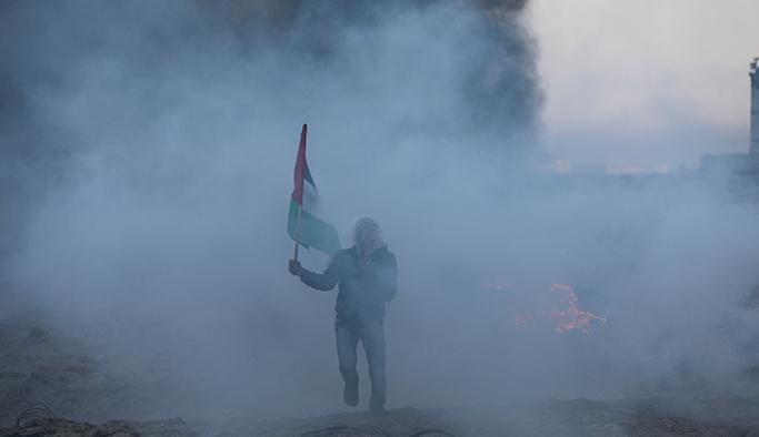 İsrail Gazze sahilinde 14 Filistinliyi yaraladı