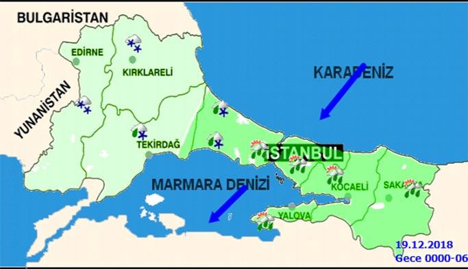 İstanbul 18-19 Aralık 2018 Hava Durumu: AKOM'dan uyarı geldi