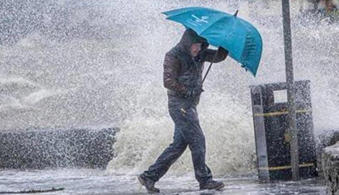 Türkiye geneli sağanak yağış bekleniyor - 10 Aralık 2018 Hava Durumu