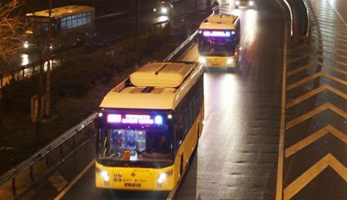 İstanbul'da ulaşıma yılbaşı ayarlaması