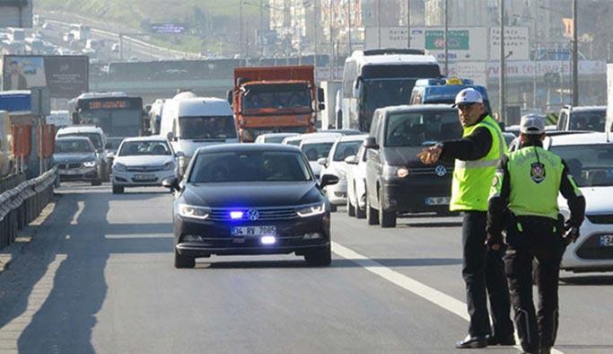 İstanbul trafiğindeki çakarlı araç sayısı açıklandı