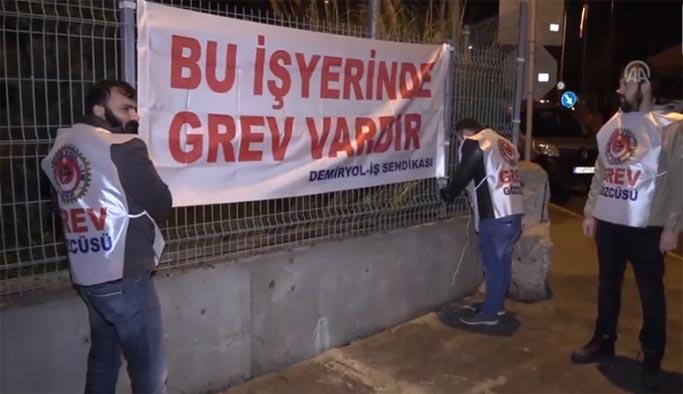 İzmir'de grev var, seferler durdu