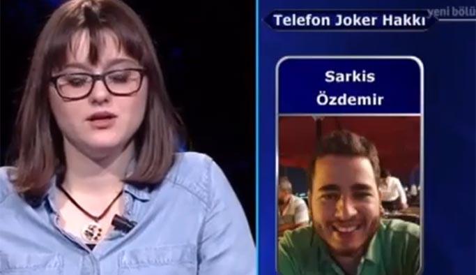 Kim Milyoner Olmak İster'de telefon jokeri fena yakalandı
