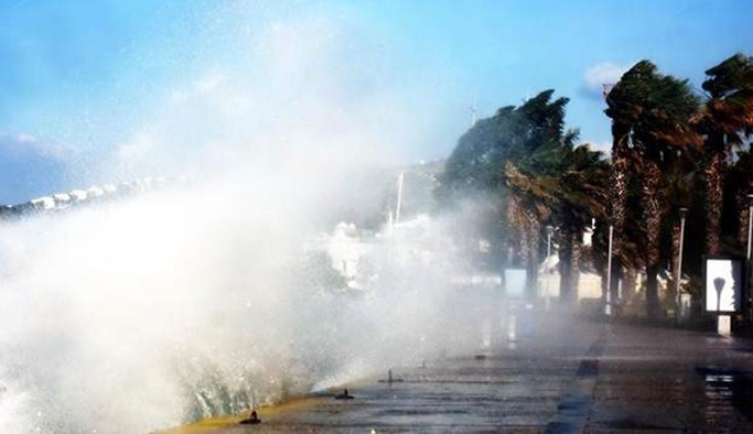 Meteorolojiden 4 bölgeye fırtına uyarısı