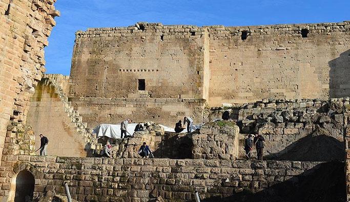 Orta Doğu'nun görkemli sarayı gün yüzüne çıkıyor